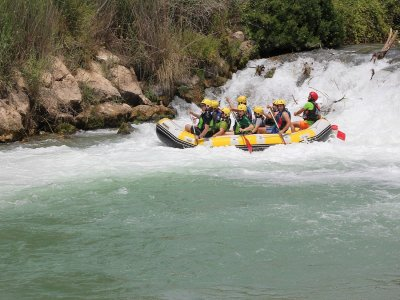 Rafting in Cenajo, Lunch and Pictures