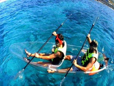 Ruta en Kayak transparente en Armeñime