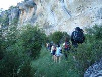 A pie de la roca de Cuenca