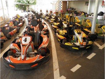 Karting en coche de 4 tiempos, niños, 12 min