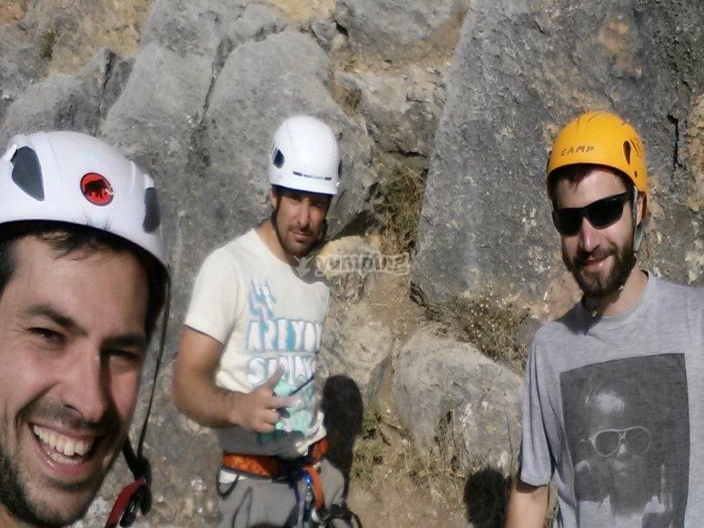 Nuestros escaladores