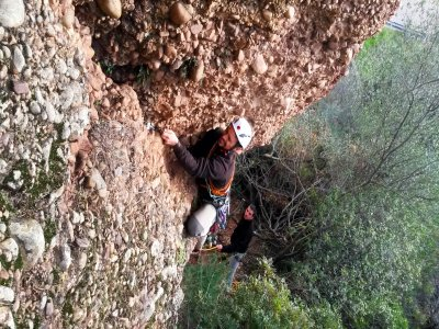 Fuensanta山谷的登山电路