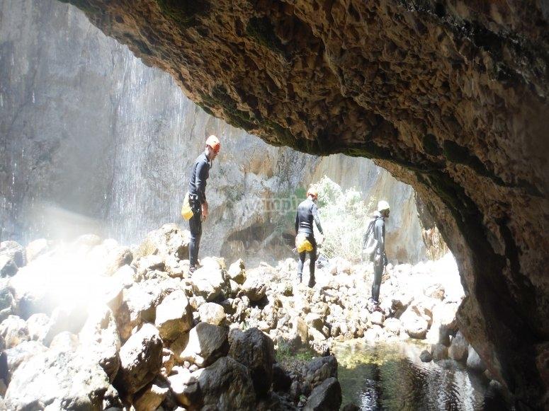 Cueva en barranco de La Bolera