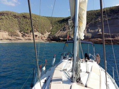 团队建设与帆船穿过特内里费岛