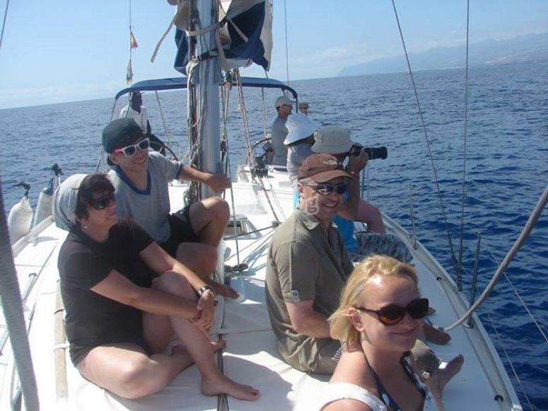 Paseo en barco en Tenerife