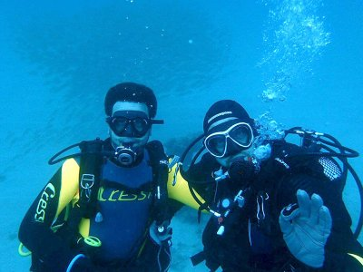 Diver Open Water course in Lanzarote