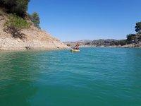 Excursion en kayak en rio de Malaga