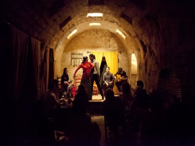 Flamenco show, Baños de Santa María, Córdoba