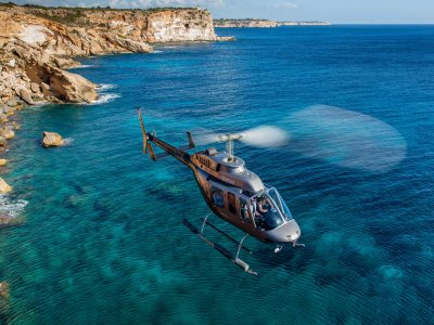 30 min helicopter ride in Majorca