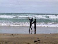 Clases de kitesurf