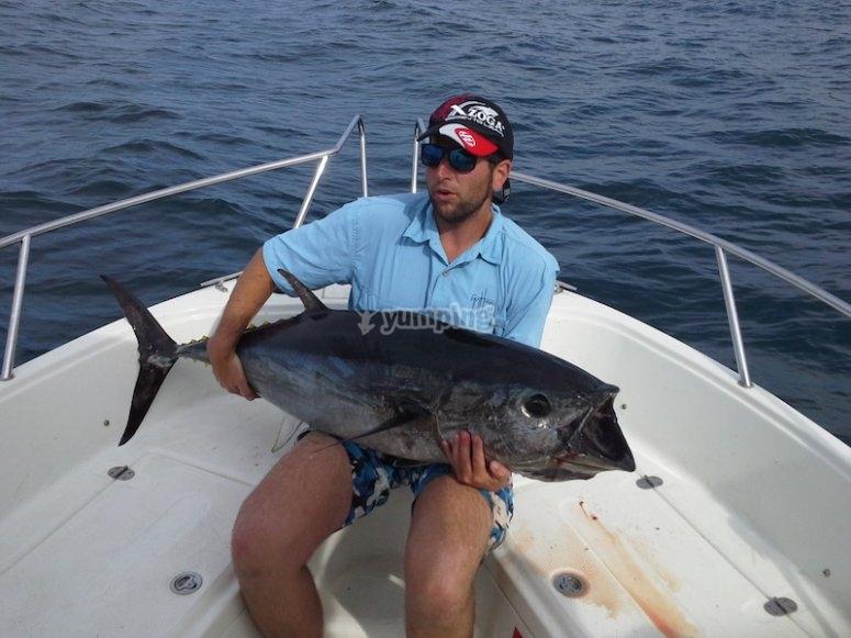 Pesca en Ibiza
