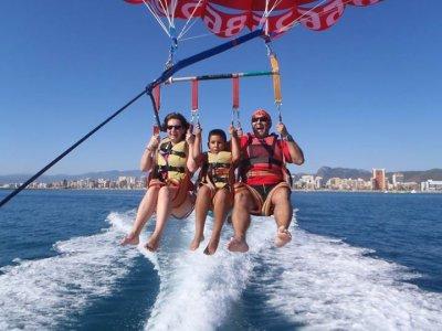 Parasailing a Denia Alicante