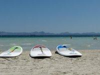 Alquiler de paddle surf costa mallorquina 1 hora