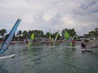 Windsurfing day in Mallorca