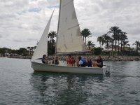 Learning sail in Mallorca