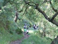 Peques excursionistas en Malaga