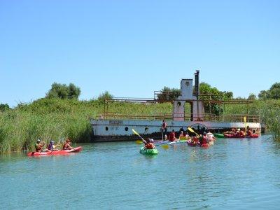 Alquiler de kayaks en Arcos de la Frontera 1hora