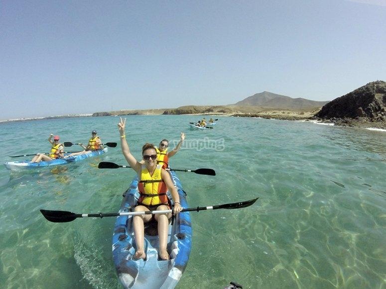 Kayak en Papagayo