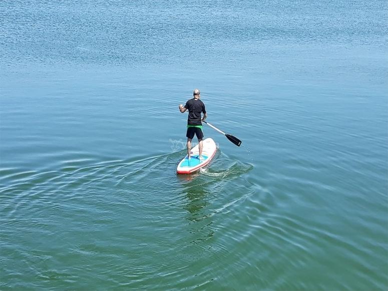 Paddle surf en el embalse de Arcos