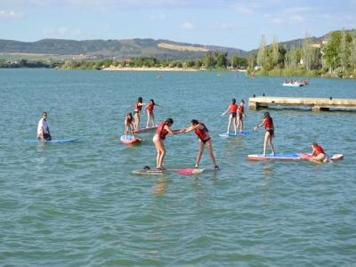 Bautizo de paddle surf en el embalse de Arcos