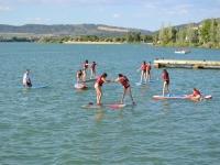 在Arcos水库划桨冲浪洗礼