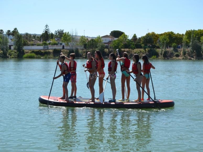 Paddle para 8 personas