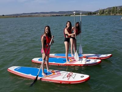 Ruta de paddle surf embalse de Arcos 90 min