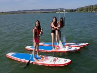 Chicas haciendo Paddle Surf