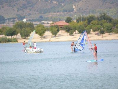 Bautismo de windsurf en Arcos de la Frontera