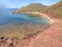 Una de las playas
