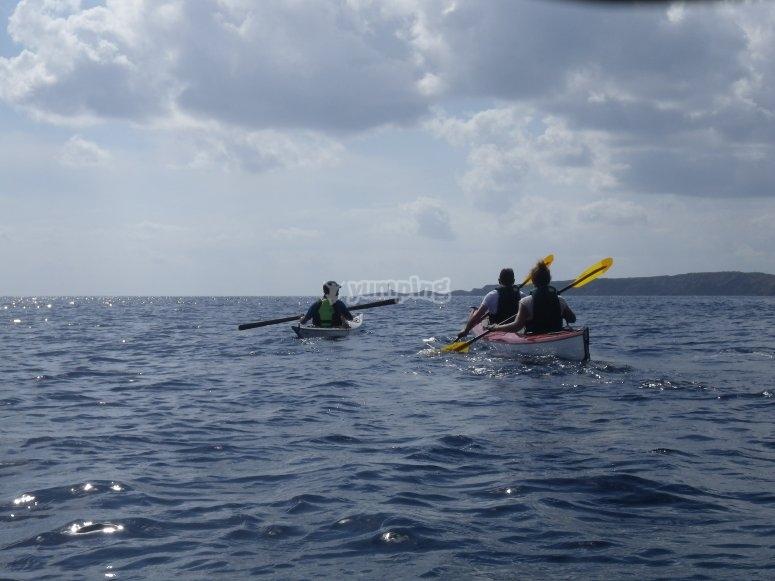 Jornadas de kayaking