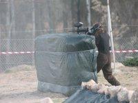 Disparando detras del obstaculo