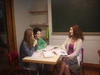 Clasroom with teacher
