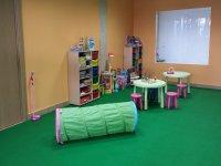 zona de juego de un parque infantil