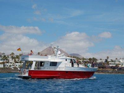 Excursión en barco por Lanzarote 4 horas
