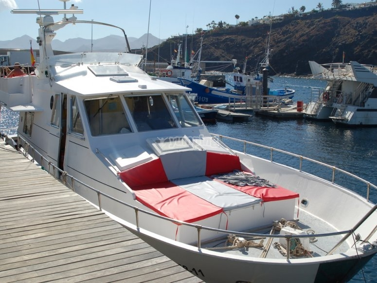 Boat moored