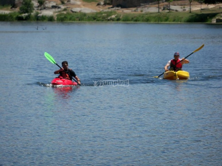 Kayaking in Ledesma