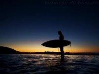 Sup puesta sol