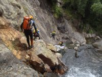 Canyoning Los Litueros, in Madrid