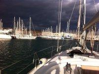 Llegada a puerto