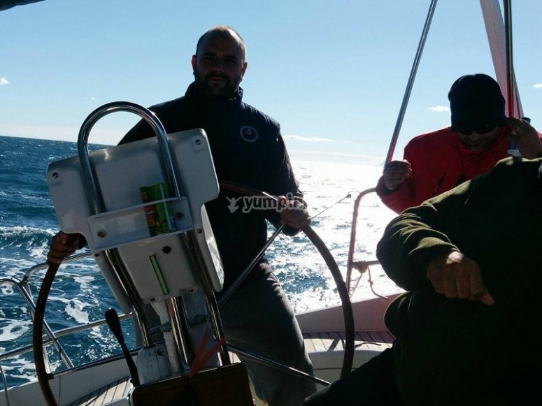Imparare a navigare a Valencia