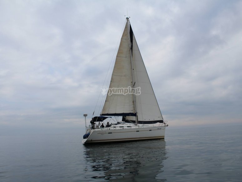 Barca a vela da pesca