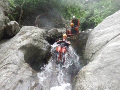 Canyoning in French West Pyrenees