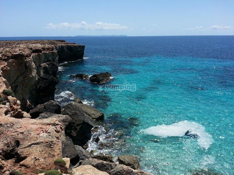 Mallorca agua azul