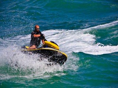 Excursión moto de agua biplaza Costa del Sol 60min
