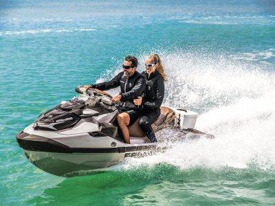 Excursión moto de agua biplaza Marbella 1 hora