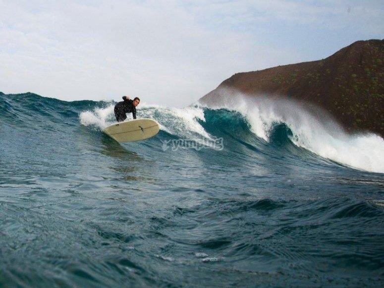 Surcando la ola