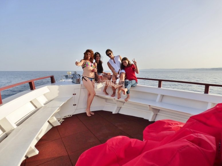 Paseo en barco en Estepona