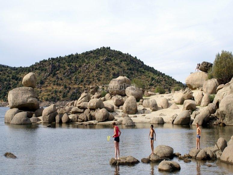 el burguillo岩石
