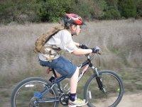 en la bici